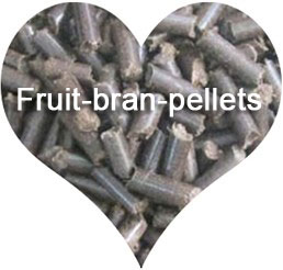 fruit bran pellets