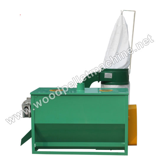 wood pellet cooler and sieving machine