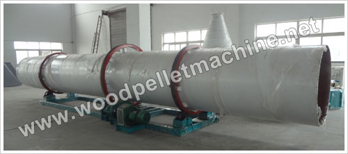 wood rattler drying machine