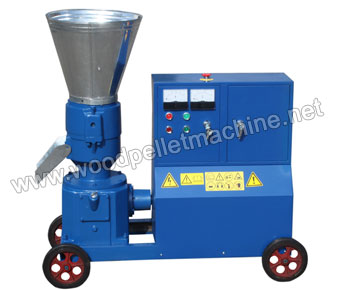 KL200_wood_pellet_machine