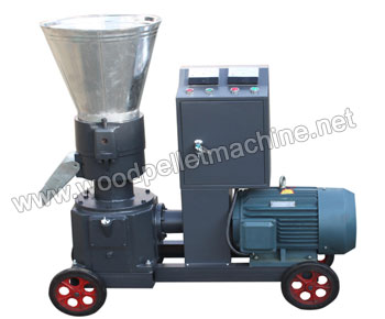 KL230_wood_pellet_machine