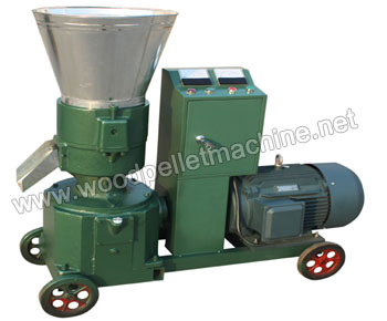 KL260_wood_pellet_machine