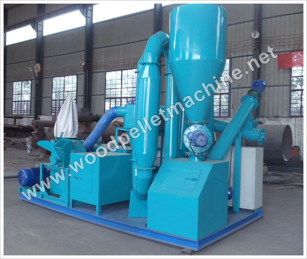 movable wood pellet plant