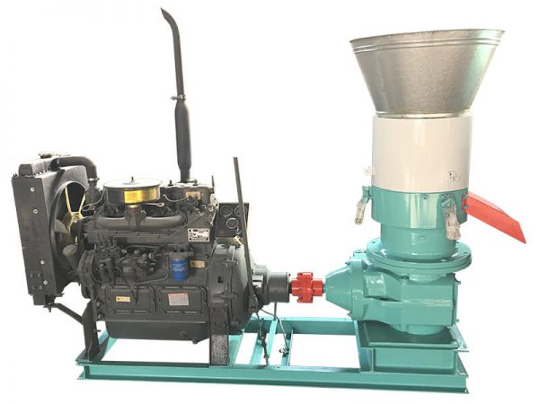 Diesel Wood Pellet Mill
