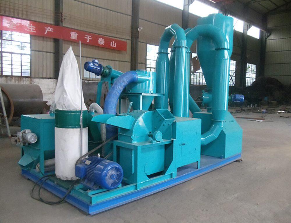 500kg/h мобильная линия для производства пеллет