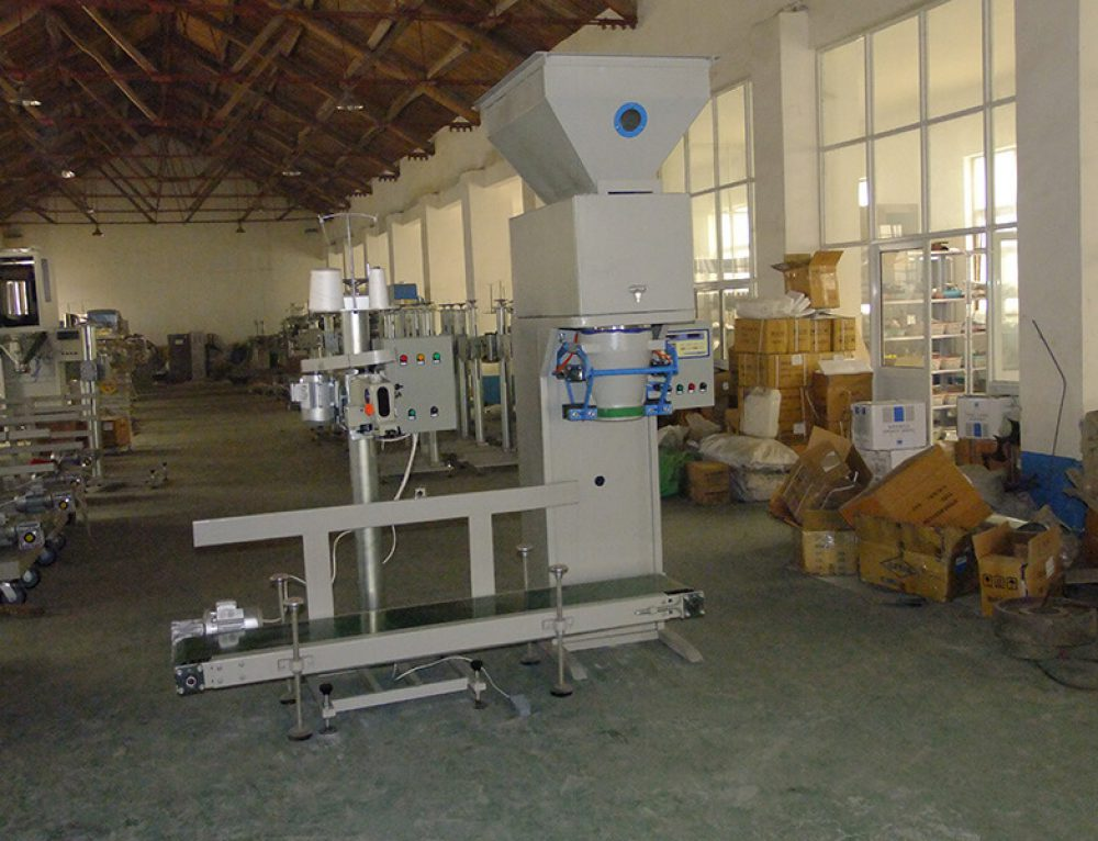 Wood Pellet Weighing and Packing Machine Export