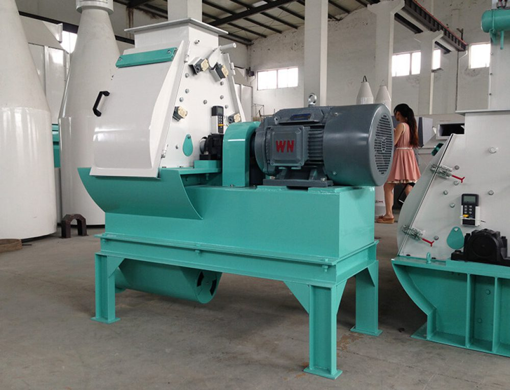 Ring Die Wood Pellet Mill and Wood Hammer Mill Export