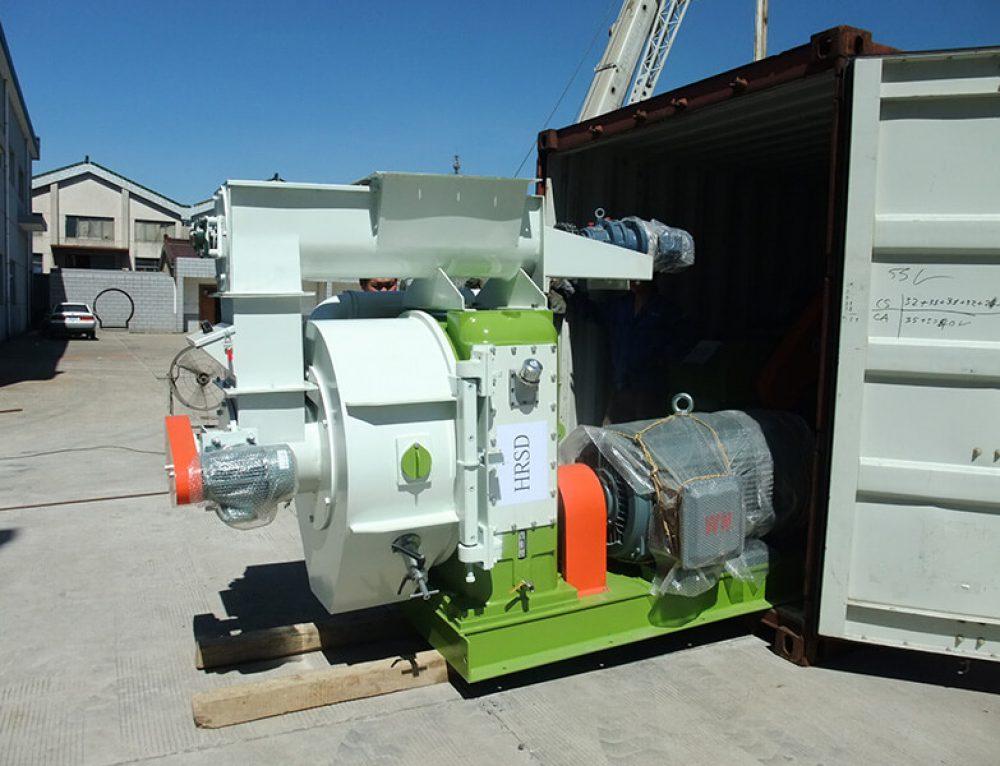 2 t/h Wood Pellet Plant Export to Bulgaria