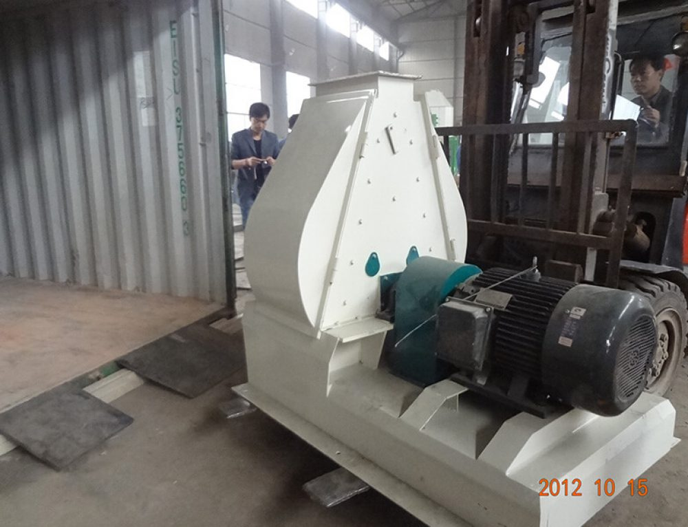 1t/h Wood Pellet Plant Export to Spain