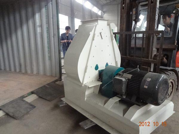 Wood Pellet Plant Export to Spain